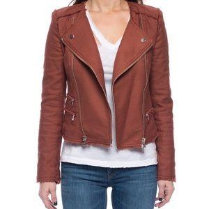 Veronica Beard Stevie Fringe Moto Jacket